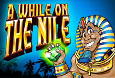 A While on the Nile Slots Online Logo
