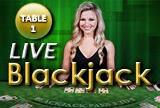 Live Dealer Blackjack Logo