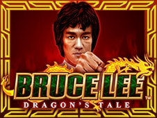 Bruce Lee - Fire Of The Dragon Slots Online Logo