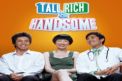 Tall Rich and Handsome Slots Online Logo