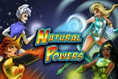 Natural Powers Slots Online Logo