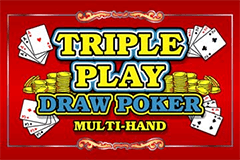 Triple Play Draw Poker Online