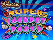 Super Jackpot Party Slots Online Logo