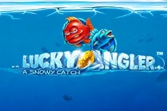Lucky Angler - A Snowy Catch Slots Online Logo
