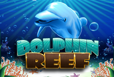 Dolphin Reef Slots Online Logo