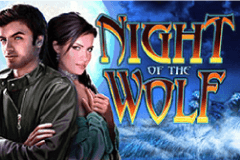 Night of the Wolf Slots Online Logo
