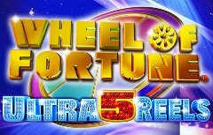 Wheel of Fortune Ultra 5 Reels Slots Online Logo
