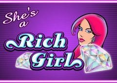 Shes a Rich Girl Slots Online Logo