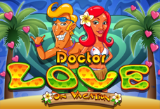 Doctor Love on Vacation Slots Online Logo