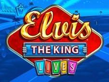 Elvis The King Lives Slots Online Logo