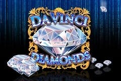 Da Vinci Diamonds Mobile Slots Online Logo