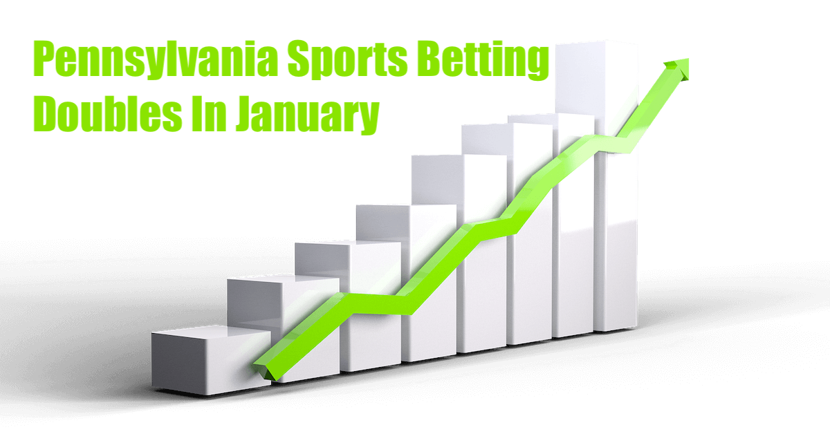 PA Sports Betting Doubles Total Handle In January