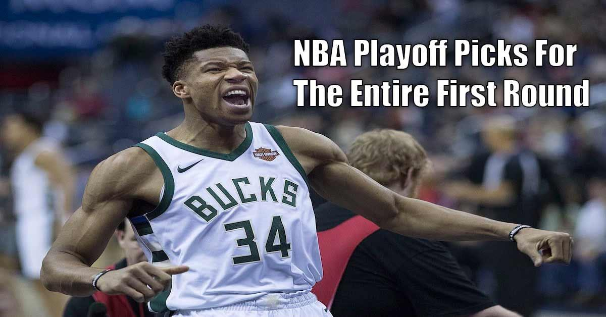 NBA Playoffs: NBA Picks For The First Round Using The SugarHouse Sportsbook App