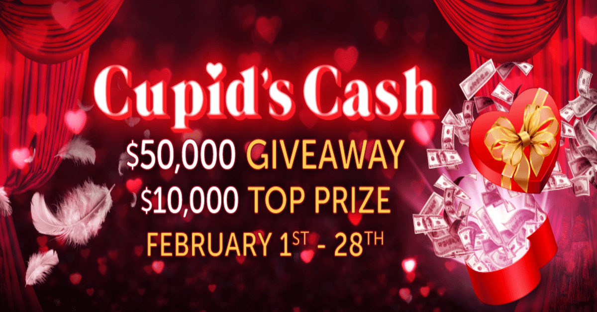 Golden Nugget Online Casino Shows Some Love With Cupid's Cash Giveaway