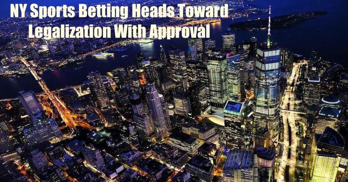 NY Sports Betting Heads Toward Legalization With Commission's Approval