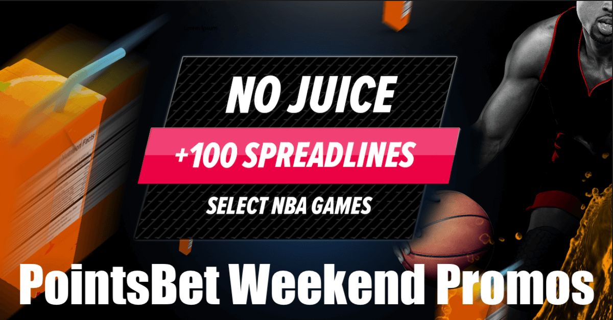 PointsBet SportsBook Promotions Highlight The NBA This Weekend