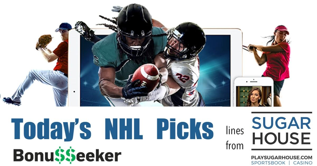 SugarHouse Sportsbook NHL Lines - Today's Picks By B. Sausa - Jan. 8