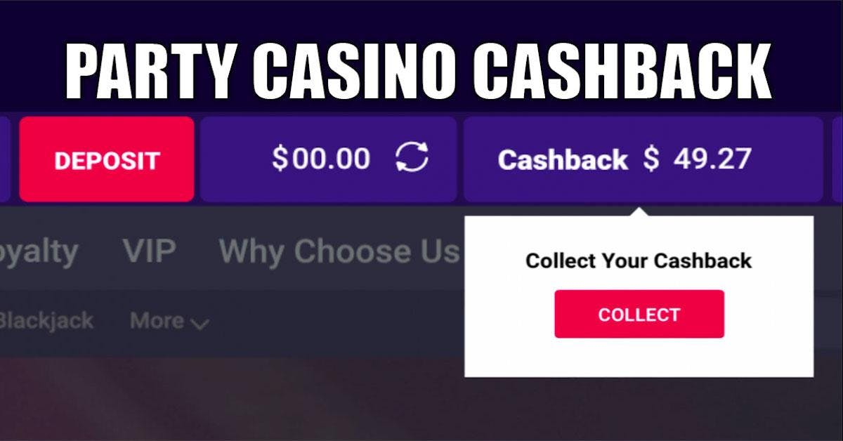 NJ Online Casino Players Get Cash Back From PartyCasino Featured Image