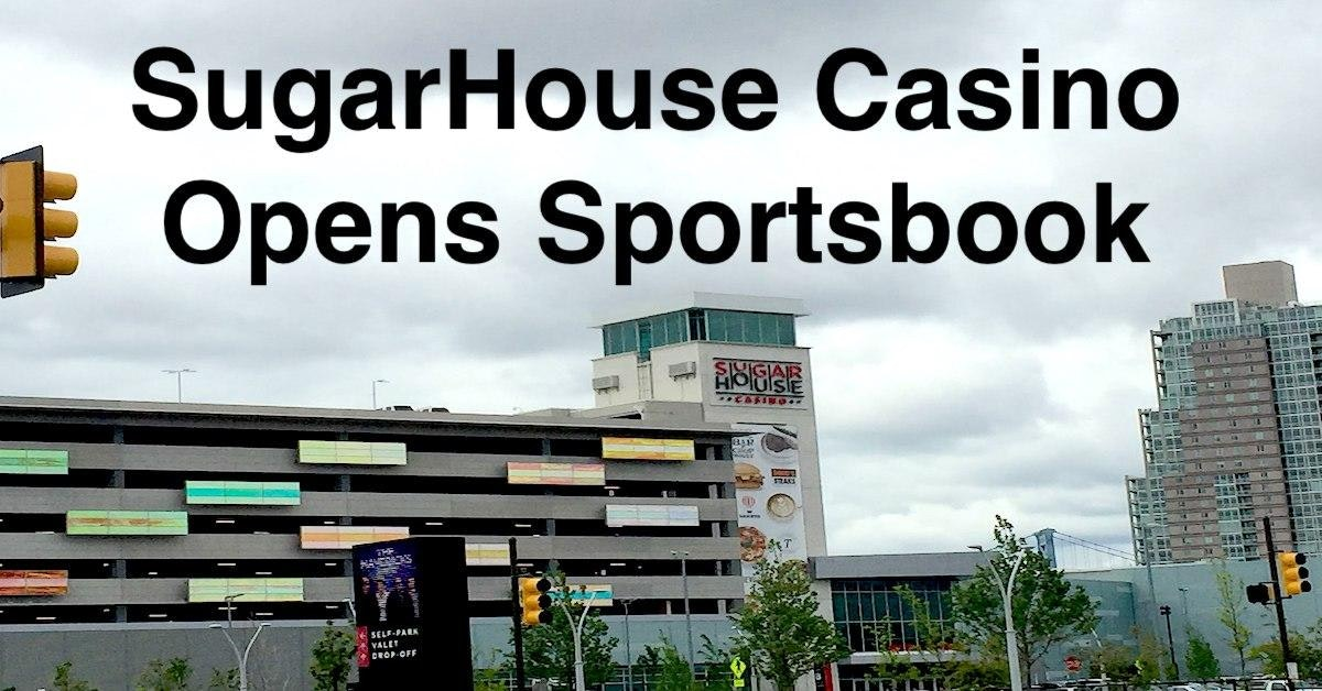 SugarHouse Sportsbook Officially Opens In PA