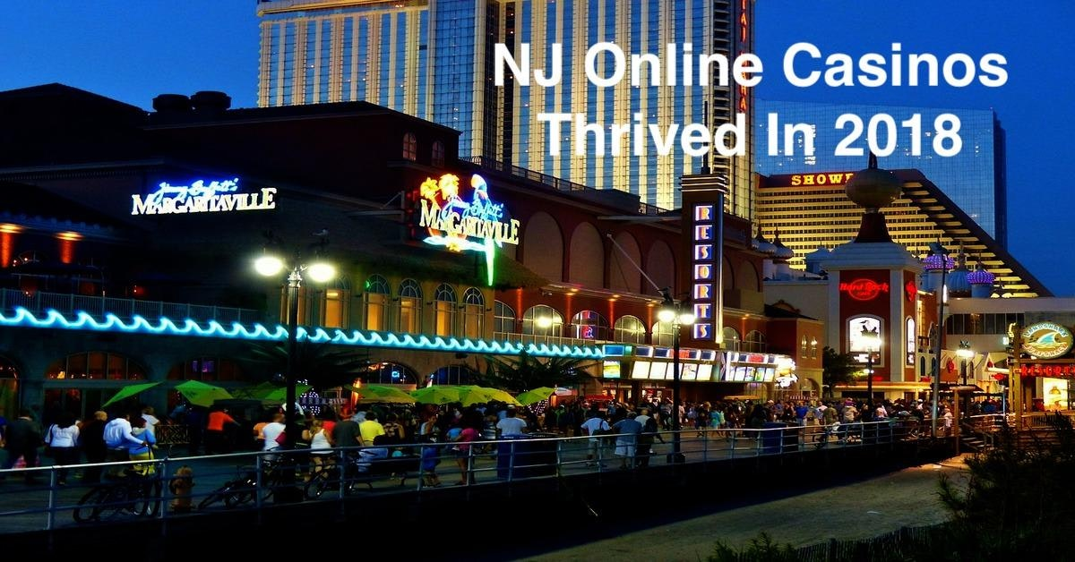 NJ Online Casinos Thrived In 2018
