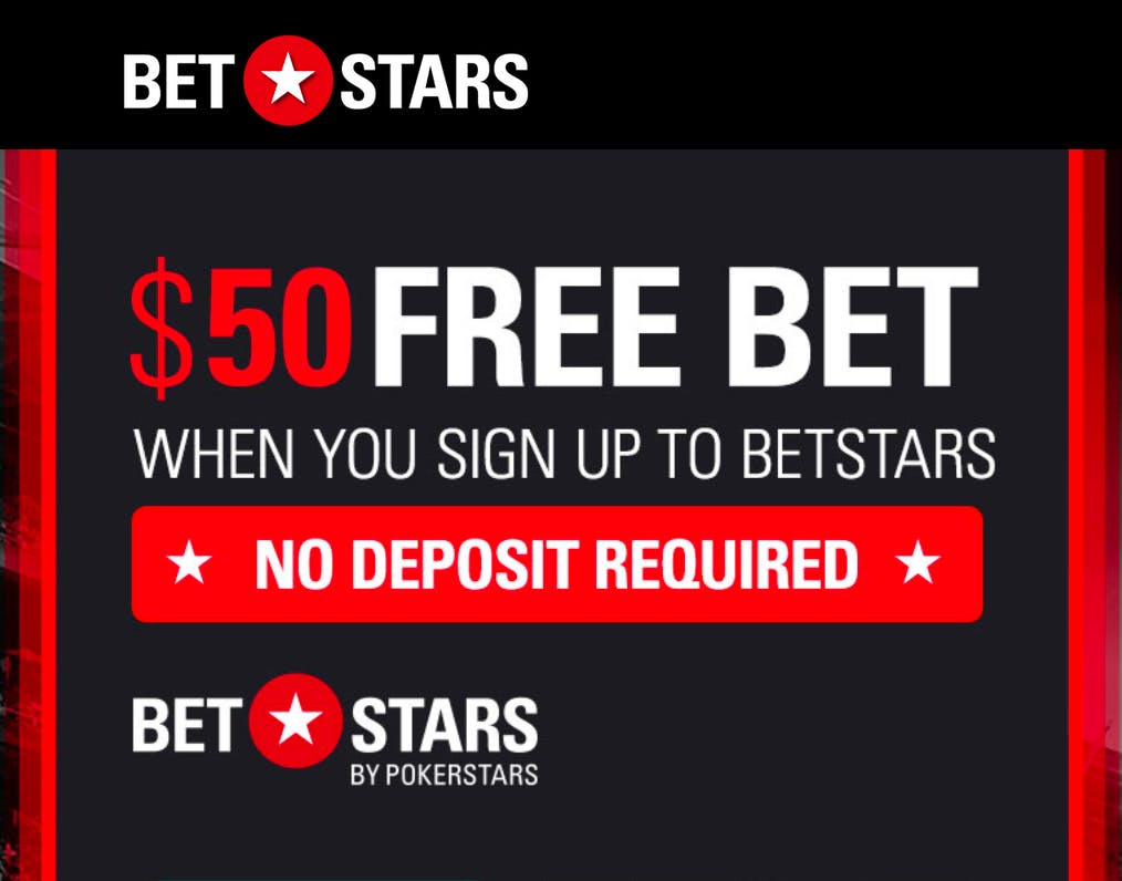 BetStars NJ Offers $50 Free Bet To New Players This December