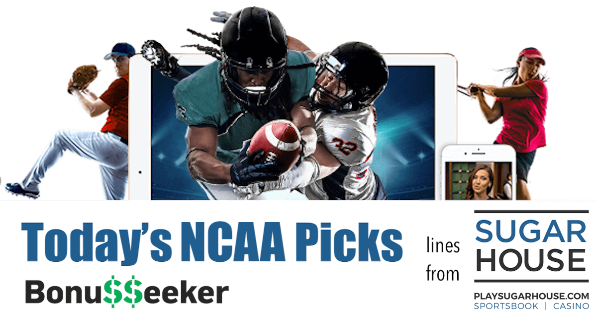NCAA Tournament Picks With SugarHouse Sportsbook: Free Sports Picks: March 22