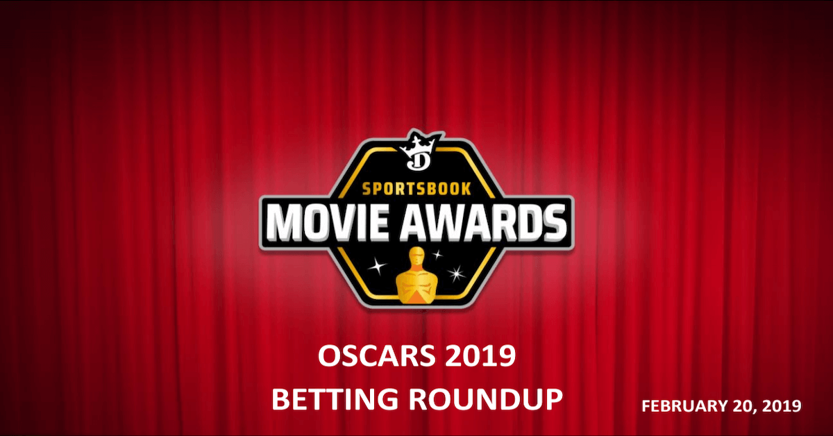 DraftKings Sportsbook Oscars Betting Roundup