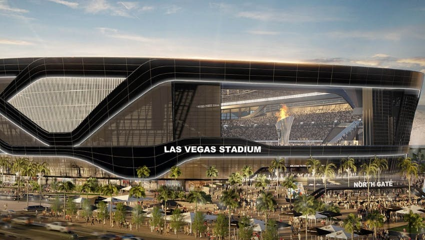 Caesars Becomes Founding Partner Of Las Vegas Stadium, Home Of The Raiders