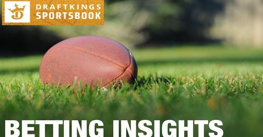 DraftKings Sportsbook Tell Us Team & Line Bet Percentages For The Super Bowl