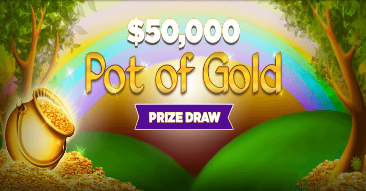 PA iLottery Gives Shot At $10,000 In $50,000 Pot Of Gold Prize Drawings