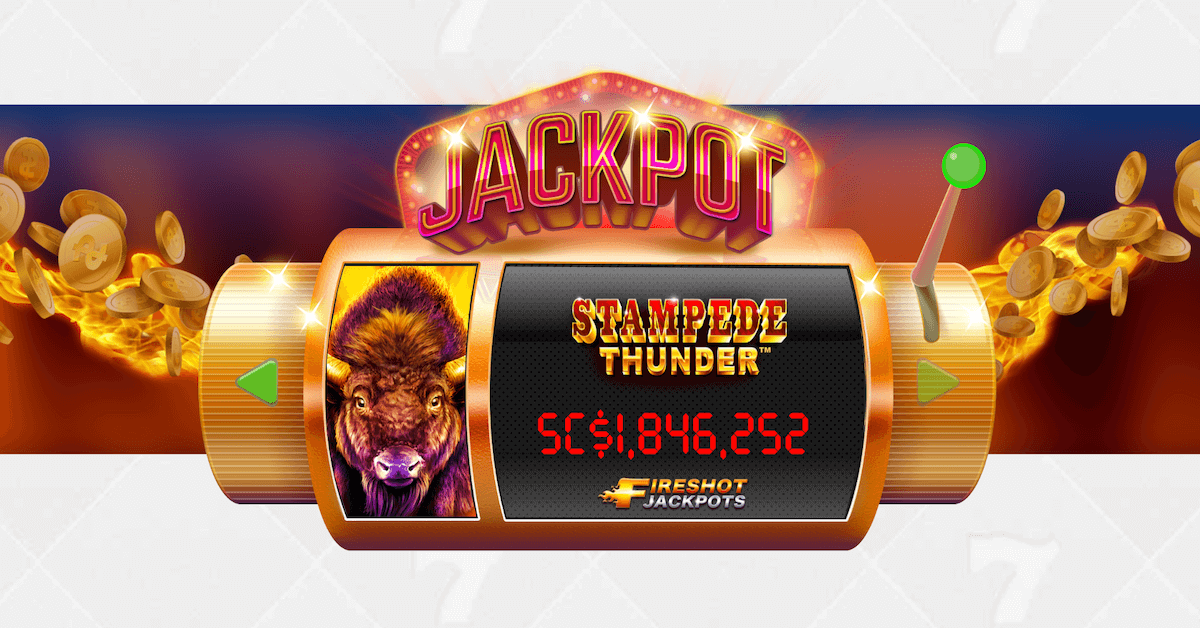 Chumba Casino Slot Players Spinning To Win The Fireshot Jackpot