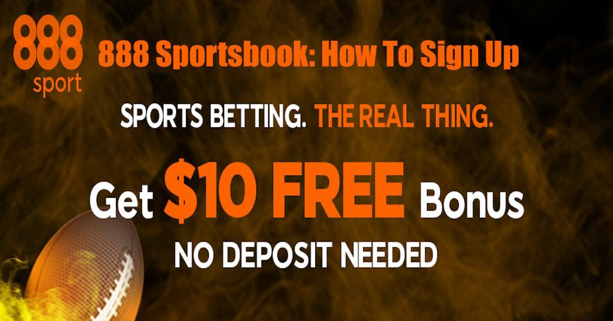 888 Sportsbook: How To Sign Up For NJ Sports Betting
