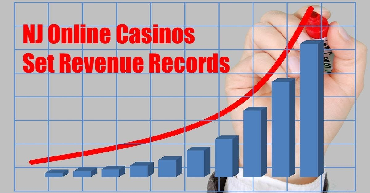 NJ Online Casinos Continue To Set Revenue Records