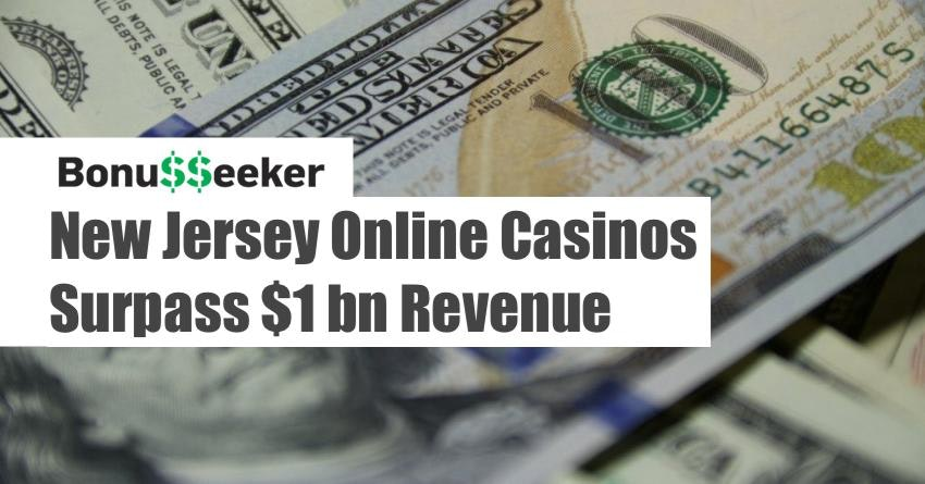 New Jersey Online Casinos Surpass $1 Billion In Revenue In Dec. 2018