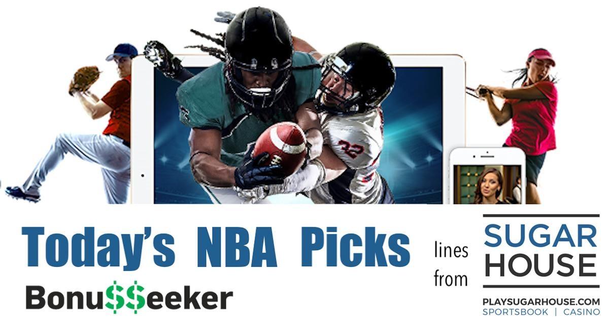 SugarHouse Sportsbook NBA Lines - Today's Picks By B. Sausa - Jan. 25