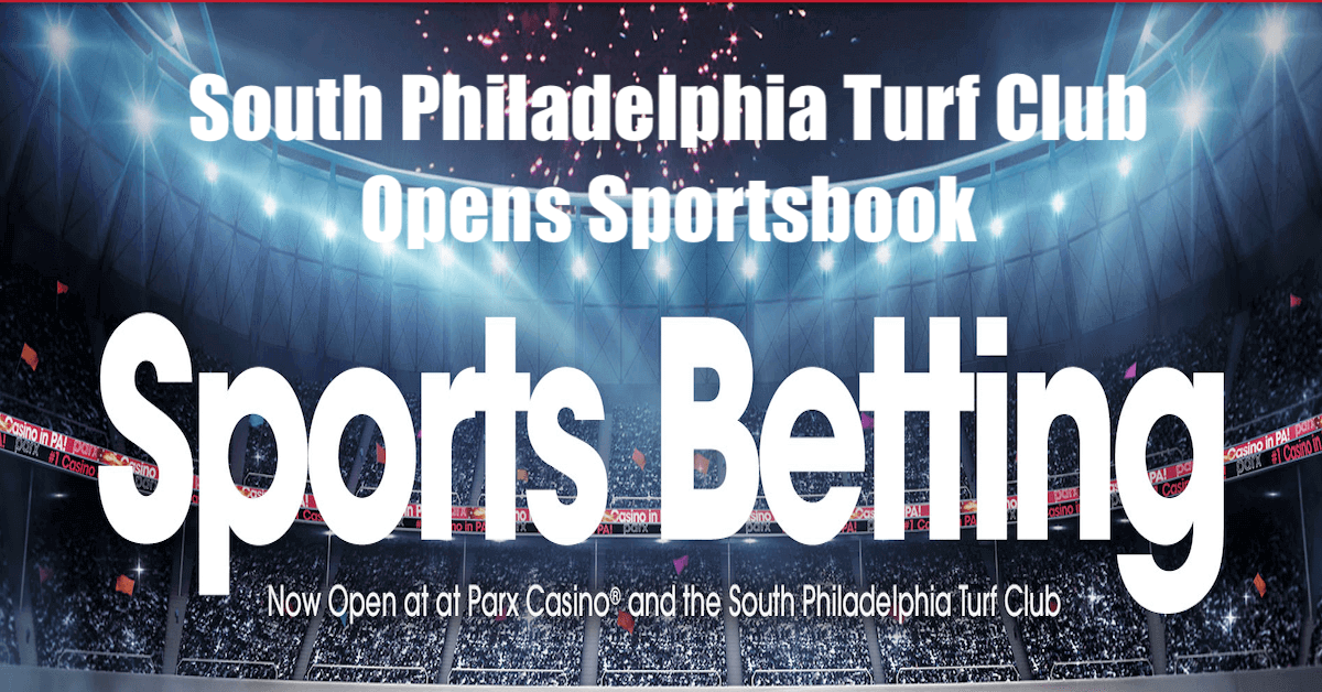 PA Sports Betting Launches Fifth Sportsbook With South Philadelphia Turf Club