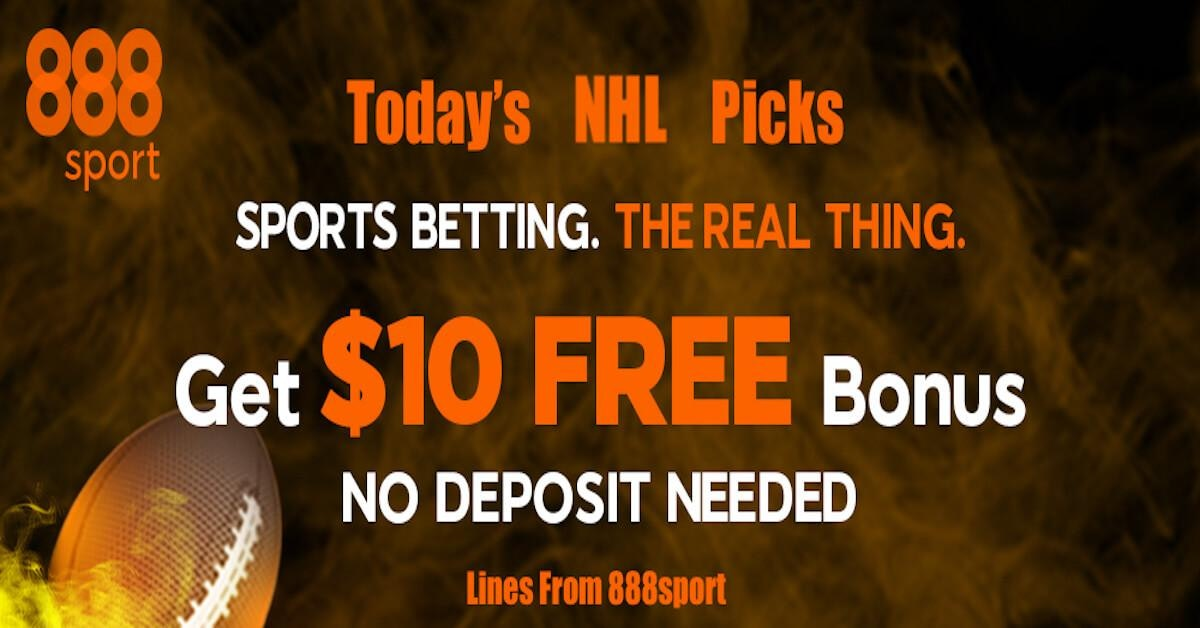 NHL Betting On The 888sport App: Free Sports Picks Daily - Feb. 14 Featured Image
