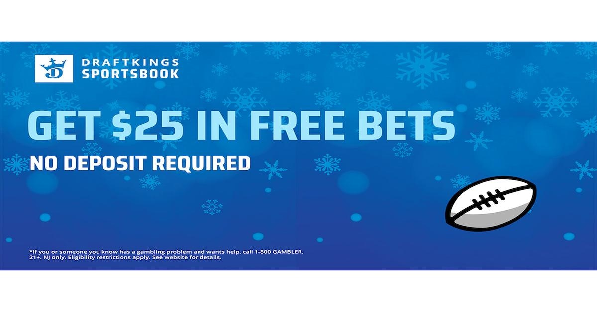 DraftKings Sportsbook Offers $25 Free Bet Starting Jan. 2 For New Signups