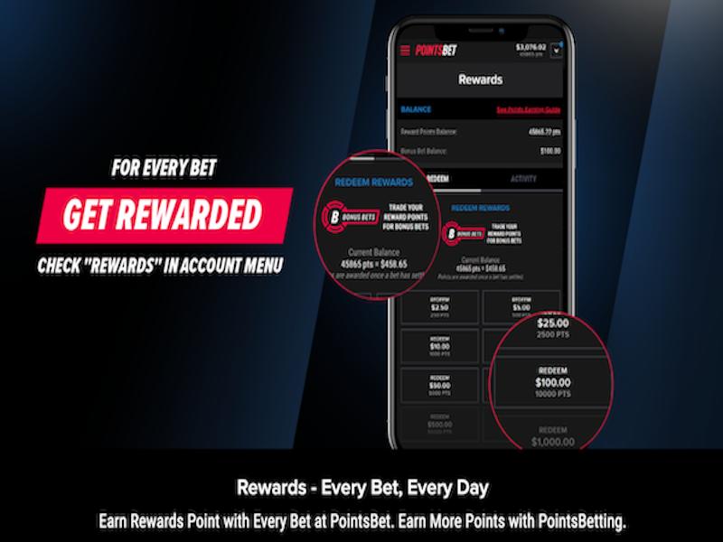PointsBet Sportsbook Rewards