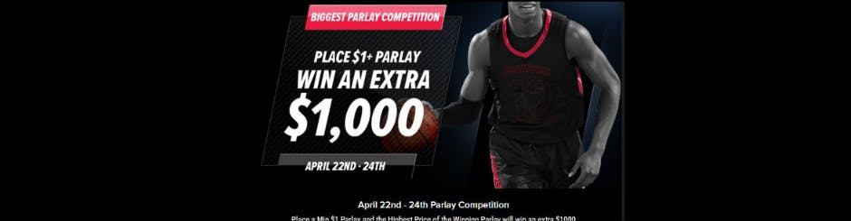 PointsBet Sportsbook Promo - Place $1 + Parlay - Win An Extra $1000