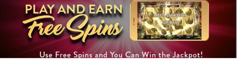 playMGM Online Casino Promo - Play And Earn Free Spins