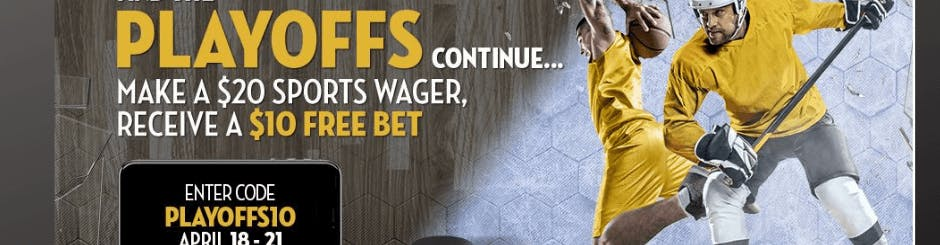 Caesars Online Casino & Sport Promo - $10 Free Bet With A Wager of $20