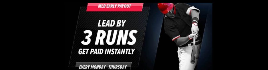 PointsBet Sportsbook Promo - MLB Early Payout - Every Monday To Thursday