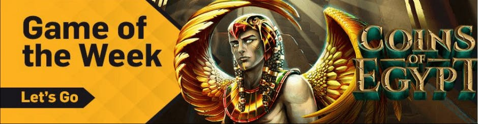 Betfair Casino Promo - Game Of The Week - Coins Of Egypt