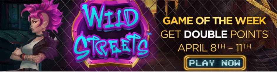 Golden Nugget Online Casino Promo - Wild Streets Game Of The Week
