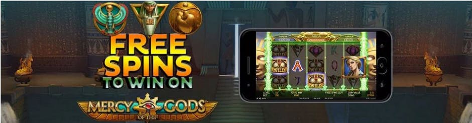 Borgata Casino Online Promo - Mercy Of The Gods Free Spin To Win
