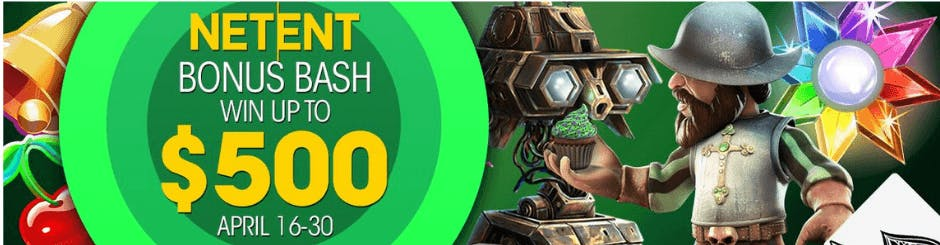 Resorts Online Casino & Sports Promo - Net Ent Bonus Bash - Win Up To $500